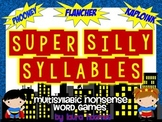 Super Silly Syllables- Multisyllabic Nonsense Word Games