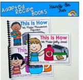 Super Simple Adapted Recipe Books