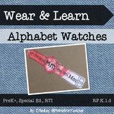 Wear & Learn: Alphabet Watches, {Early Literacy}