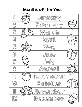 Super Simple Calendar Binder