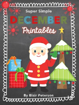 Super Simple December Printables