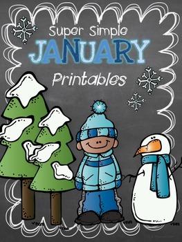 Super Simple January Printables