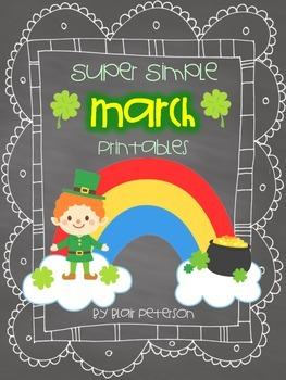 Super Simple March Printables