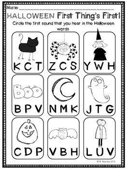 Super Simple October Printables