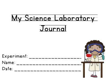 Super Simple Science Experiment Laboratory Journal: Differentiated Pages