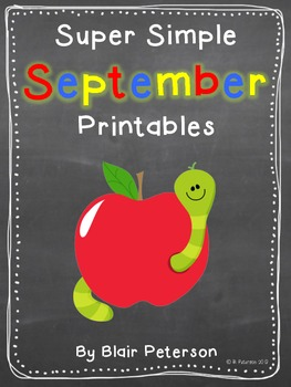Super Simple September Printables