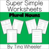 Super Simple Worksheets ~ Grammar ~ Plural Nouns