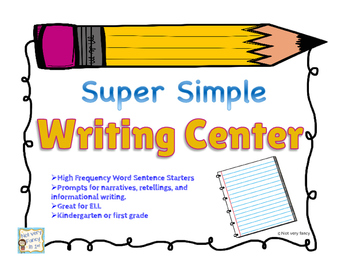 Super Simple Writing Centers