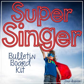 Super Singer Bulletin Board Kit