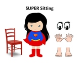 Super Sitting- Behavior Visual