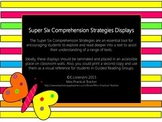 Super Six Comprehension Displays with Question Prompts