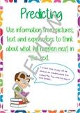 Super Six Comprehension Poster - Predicting