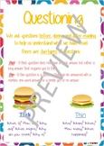 Super Six Comprehension Poster - Questioning
