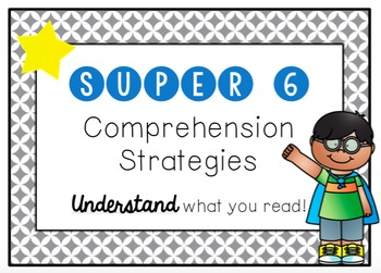 Super Six Comprehension Posters