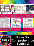 Super Six Comprehension Bundle.