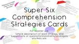 #ausbts18 Super Six Comprehension Strategies Cards