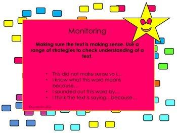 Super Six Comprehension Strategies Displays and Learning Bundle
