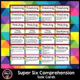 Super Six Comprehension Task Cards