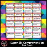 Super Six Comprehension Task Cards