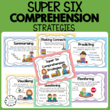 Super Six Comprehension Strategy Posters