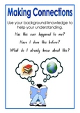 Super Six Comprehension Strategy Posters K-2
