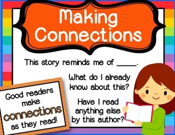 Super Six Comprehension Strategy Posters for Reading Success