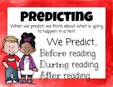 Super Six Reading Skills Posters
