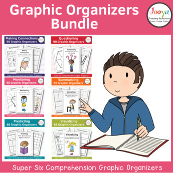 Comprehension Strategies - Super Six Printable Resources for Teachers