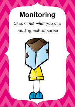 Super Six Reading Strategies - Monitoring