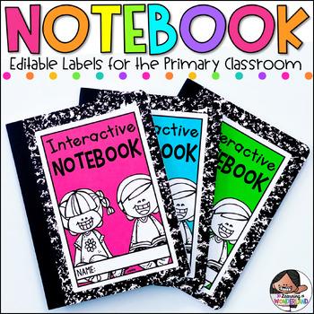Editable Labels | Super Size Label Set | Notebook and Folder Labels