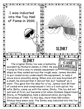 Enrichment Activity: Super Sleuth Daily Clue Challenge FREEBIE