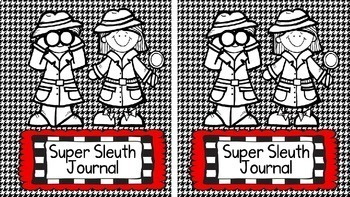 Super Sleuth Interactive Writing Notebook