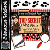 Interactive Notebook-Student Super Sleuth Writing Activities