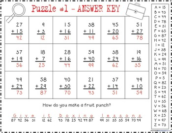 Super Sleuths: Crackin' The Codes {Addition and Subtraction - CCSS Aligned}