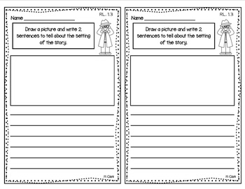 Written Comprehension Questions ~ Reading Response for any story {Common Core}