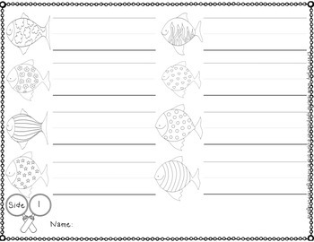 Super Small Sight Words: Fishing for Number Words