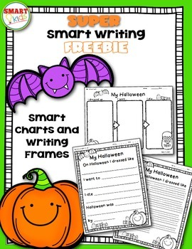 Super Smart Writing: Halloween Narrative Freebie