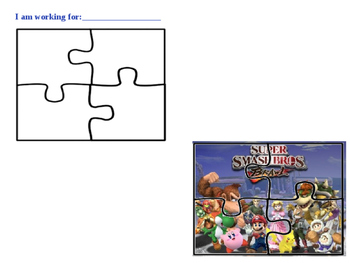Super Smash Brothers (Mario Brothers) Token Board