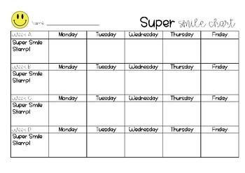 Super Smile Chart