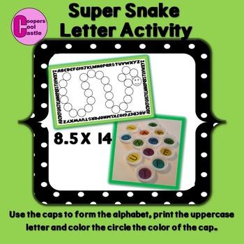 Super Snake (Uppercase Letters)
