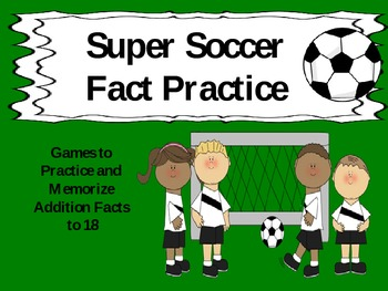 Super Soccer Addition Practice