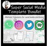 Super Social Media Template Bundle