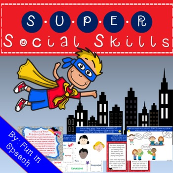 Super Social Skills-Pragmatic Language Skills Activity Pack