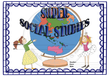super social studies by certifiably cute teachers pay teachers super social studies