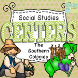 Super Social Studies Centers Bundle: Southern Colonies