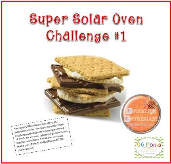 Super Solar Oven STEM Challenge