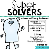 Super Solvers:  Arctic 2nd grade math word problems including 2 step
