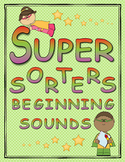 Super Sorters Beginning Sounds Activity Book