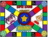 Super Sound Pursuit Game: CVC with Short-A