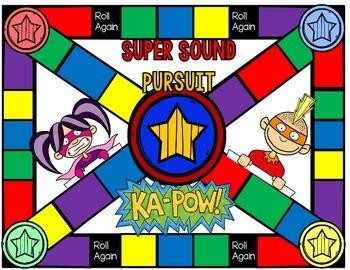 Super Sound Pursuit Game: CVC with Short-A (Expanded Version)